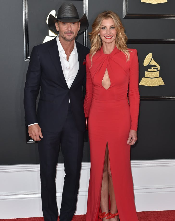 Faith Hill Tim McGraw Grammys couple