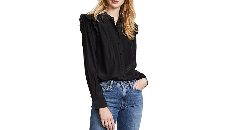 Frame Ruffled Blouse