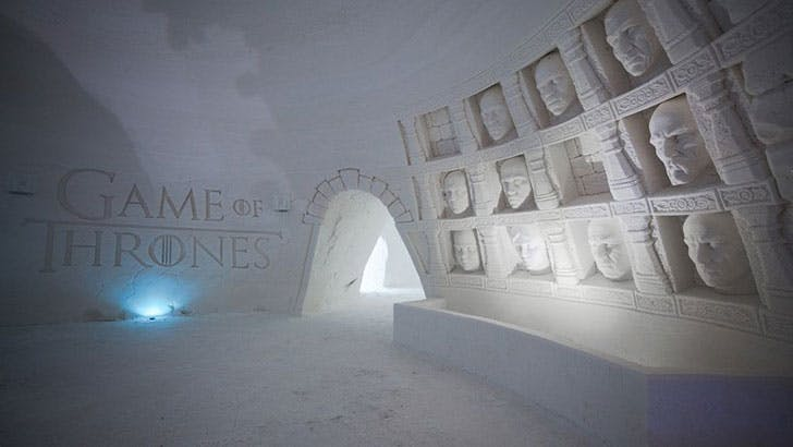 Game Thrones Ice Hotel