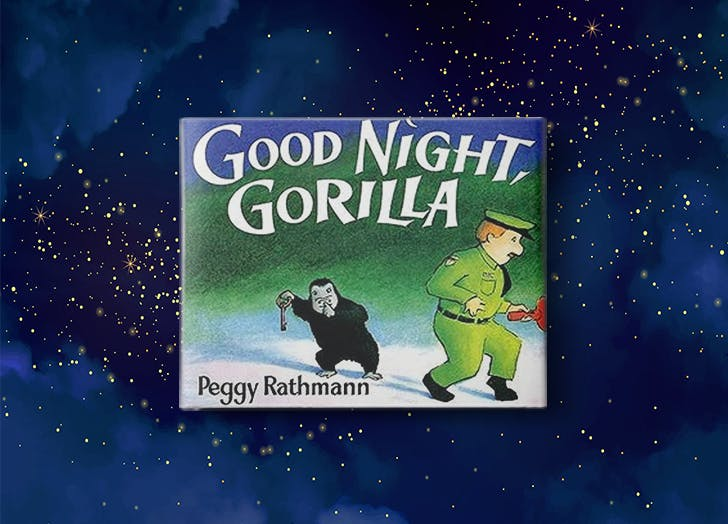 Good Night  Gorilla by Peggy Rathmann bedtime book for kids