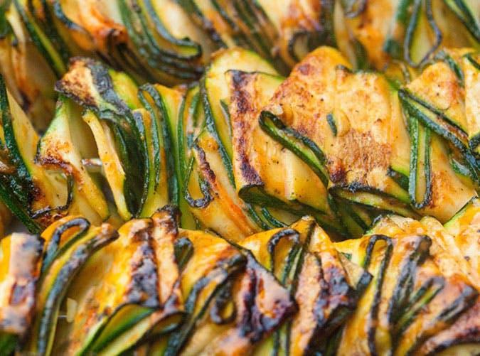 Grilled Zucchini Ribbons recipe