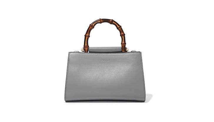 Gucci Two Tone Leather Tote