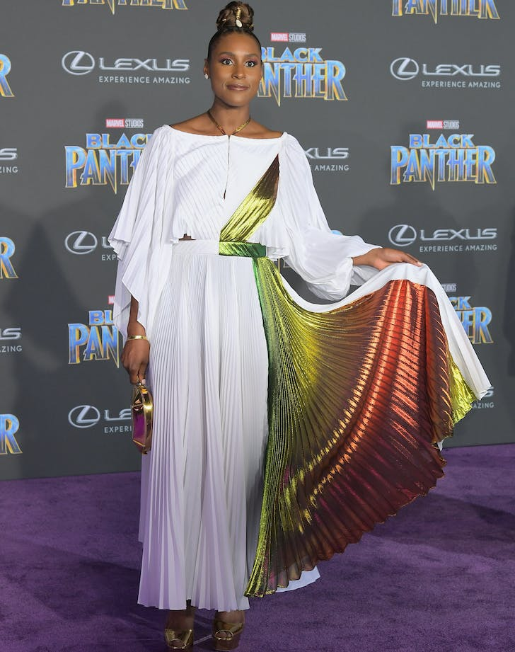 Issa Rae Black Panther Premiere
