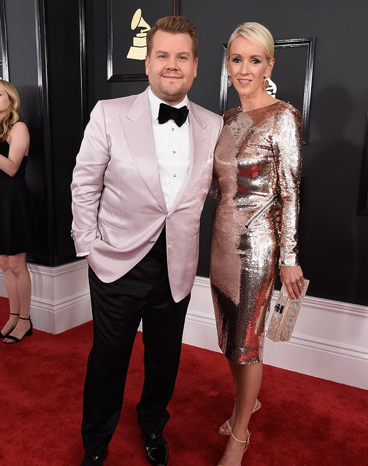 James Julia Corden Grammys couple