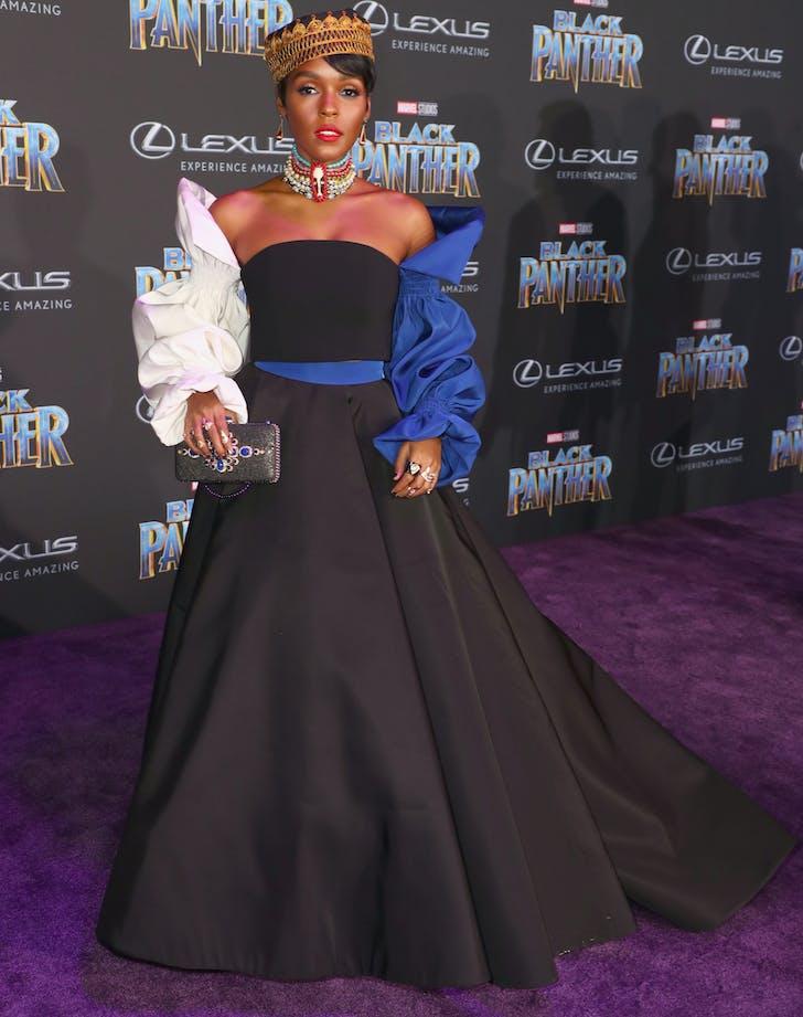 Janelle Monae Black Panther premiere