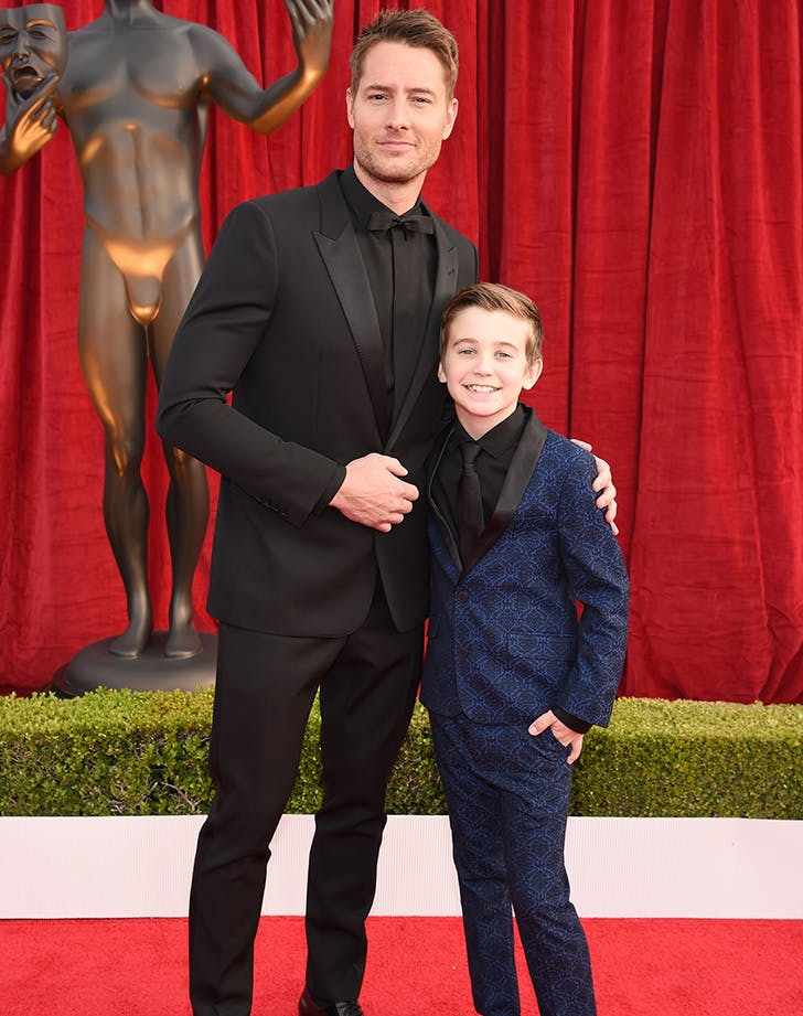 Justin Hartley SAG Awards date kevin pearson