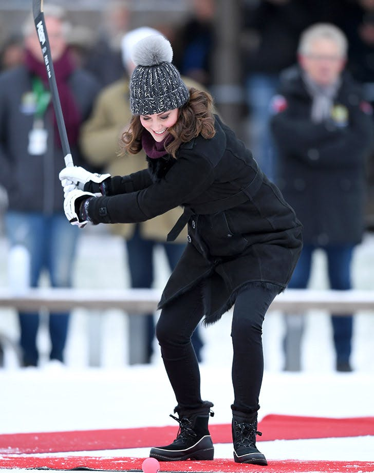 Kate Middleton hockey royal tour