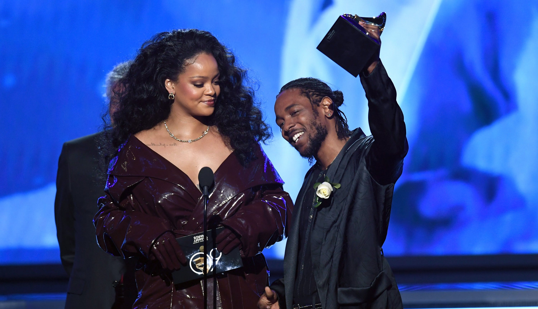 Kendrick Lamar rihanna grammy awards