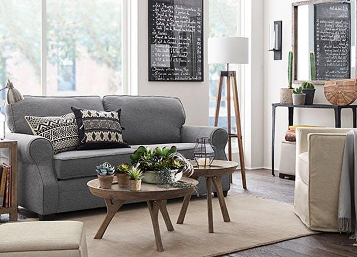 LA accessory dwelling unit small living room