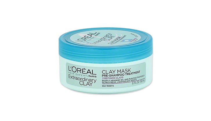 L Oreal Clay Mask Pre Shampoo Treatment