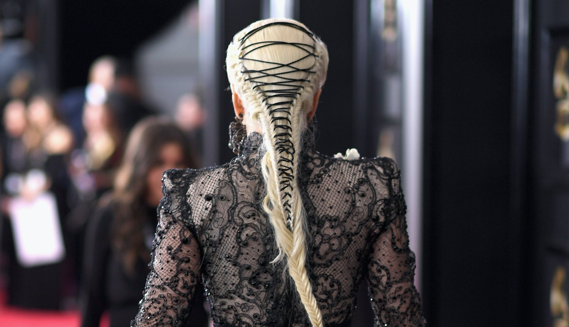 Lady Gaga Grammys hair