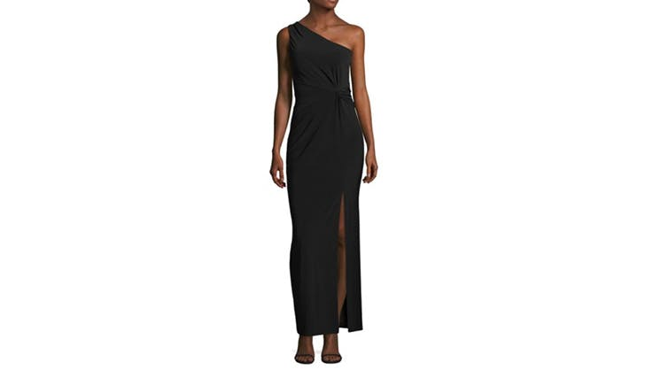 Laundry by Shelli Segal One Shouldered Dress