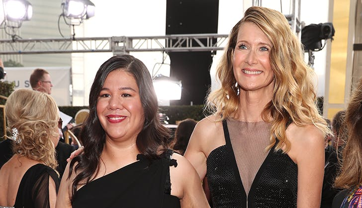 Laura Dern Monica Ramirez Golden Globes