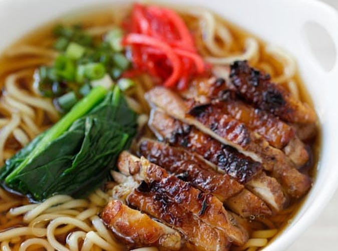 Lemongrass  Chicken and Soy Sauce Ramen recipe
