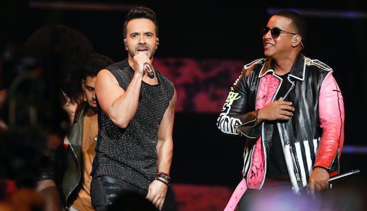 Luis Fonsi and Daddy Yankee 2018 Grammys