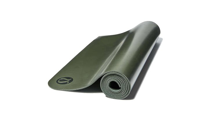 Lululemon Green Yoga mat