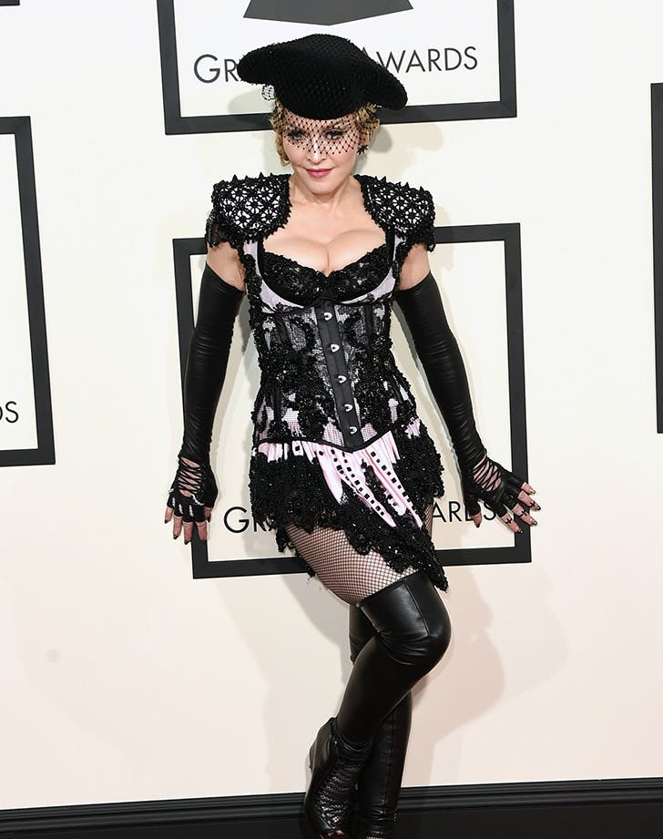 Madonna Grammys flash