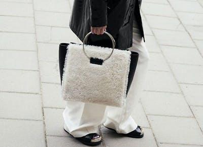 NY furry handbag trend 400
