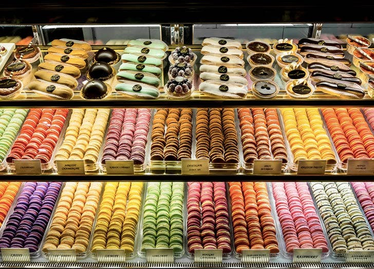 NY restaurants that feel like paris maison du macaron
