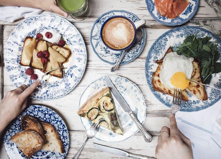 NY restaurants that feel like paris maman