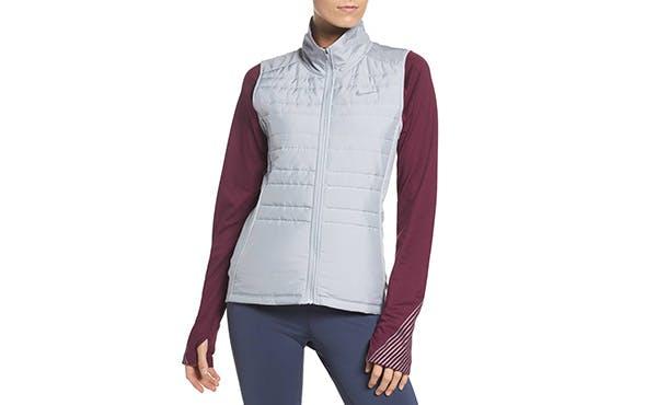 Nike lightweight puffy vest