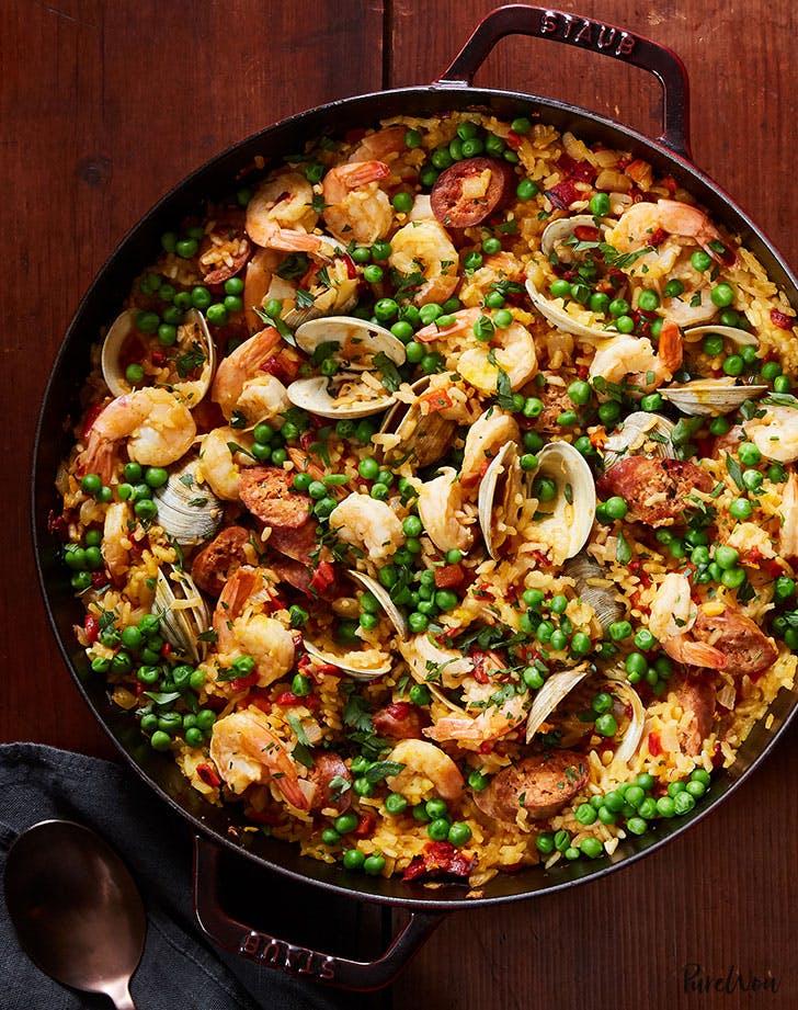 One Pan Paella Recipe