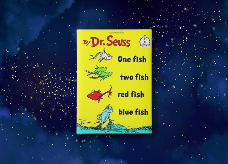 One Fish  Two Fish  Red Fish  Blue Fish by Dr. Seuss bedtime story for kids