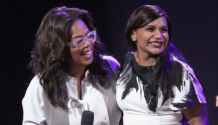 Oprah Mindy Kaling pregnancy