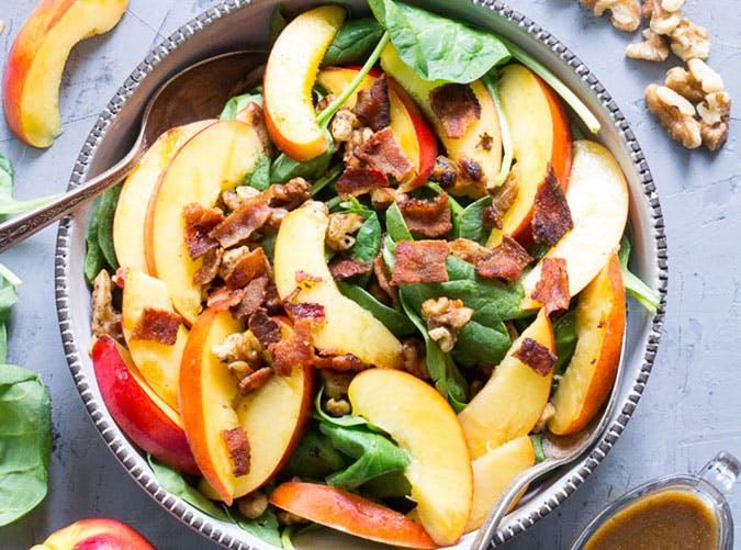 Paleo nectarine salad recipe