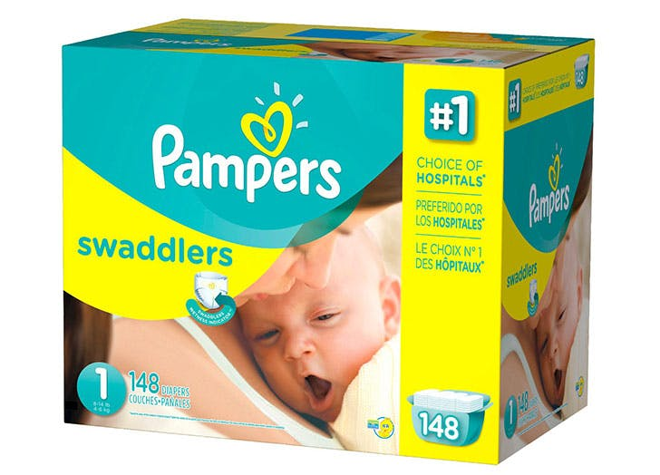 Pampers newborn diapers pack