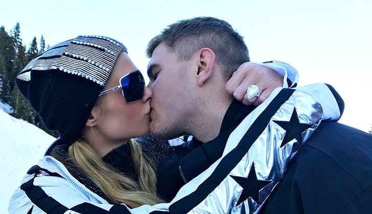 Paris Hilton Chris Zylka engaged