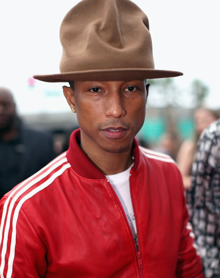 Pharrell Williams Grammys hat