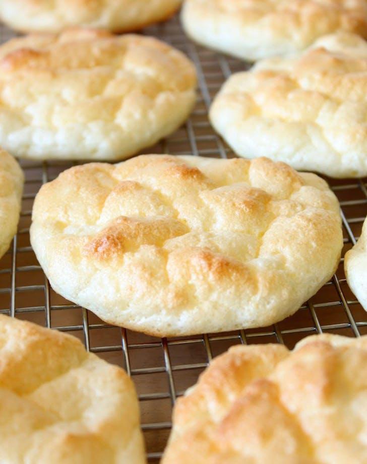 Pillowy Light Cloud Bread easy bread recipes