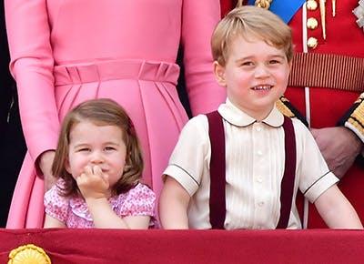 Prince George Princess Charlotte protector 400