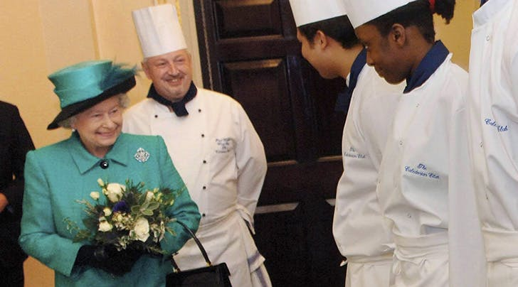 Queen Elizabeth Is Hiring a Chef and, Yes, It Includes Living at Buckingham Palace