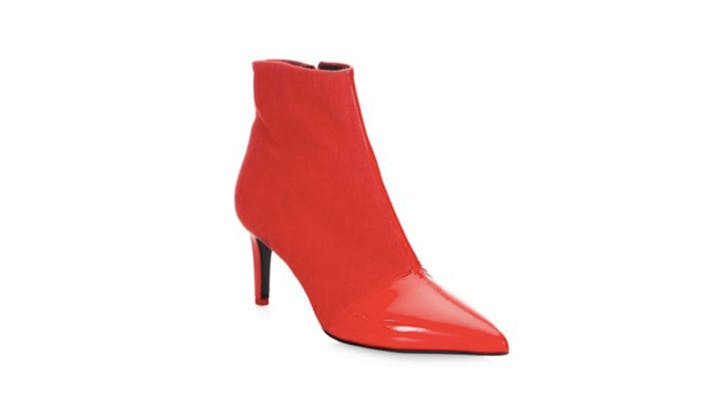 Rag   Bone red leather boots