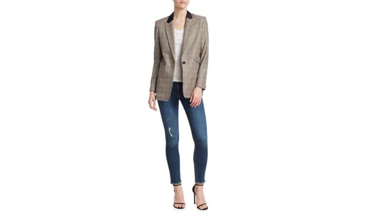 Rag and Bone Glen Print Blazer