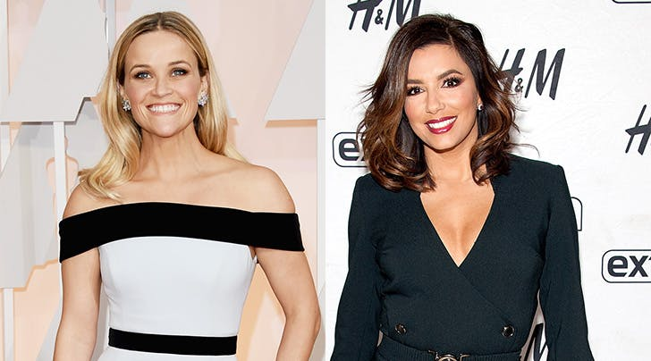 Reese Witherspoon & Eva Longoria Will Attend the Golden Globes Together for This Super-Special Reason