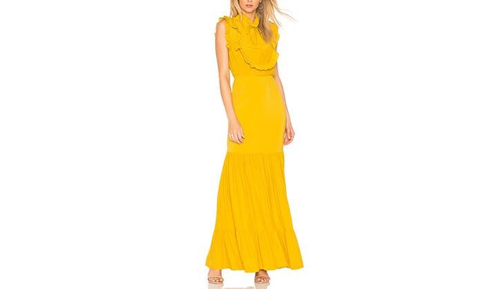 SFW Canary Yellow Maxi