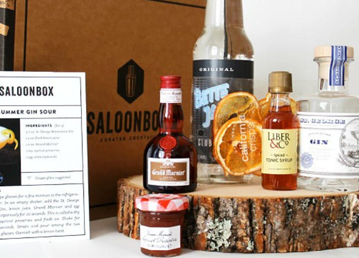 Saloonbox cocktail of the month club