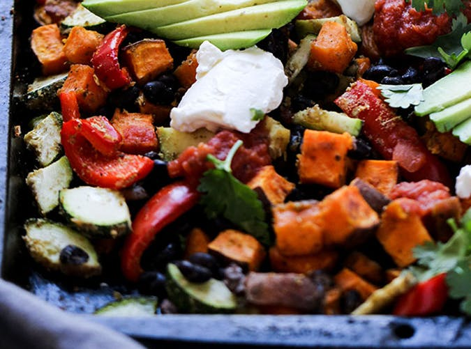 23 Easy Vegetarian Sheet-Pan Recipes for When You're Feeling Lazy