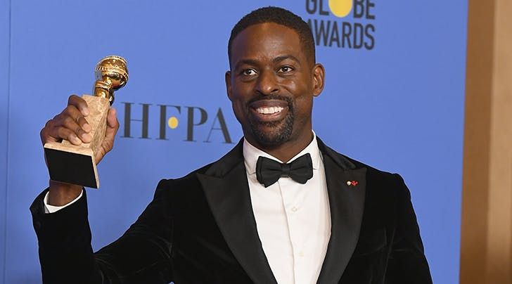 Whoa, 'This Is Us' Star Sterling K. Brown Casually Made History with His Golden Globes Win