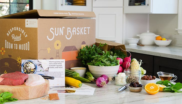 Sun Basket Subscription Box