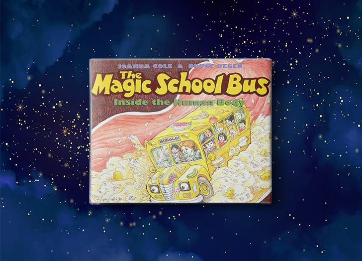 The Magic School Bus by Joanna Cole bedtime stories