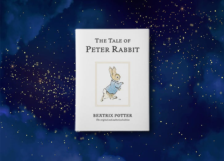 The Tale of Peter Rabbit by Beatrix Potter book cover