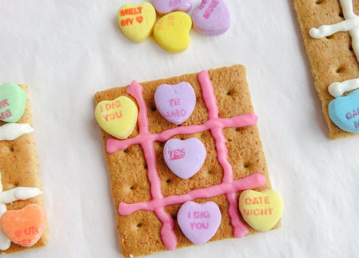 Tic Tac Toe Valentine s Day Crafts for kids