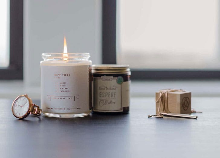 Vellabox candle of the month club