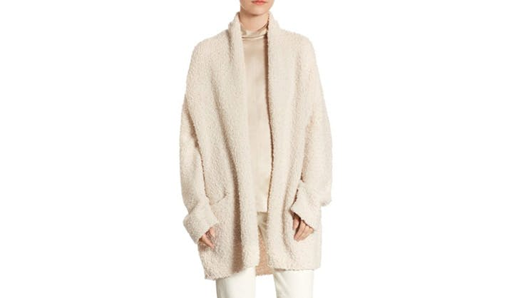 Vince Shaggy Wool Knit Cardigan
