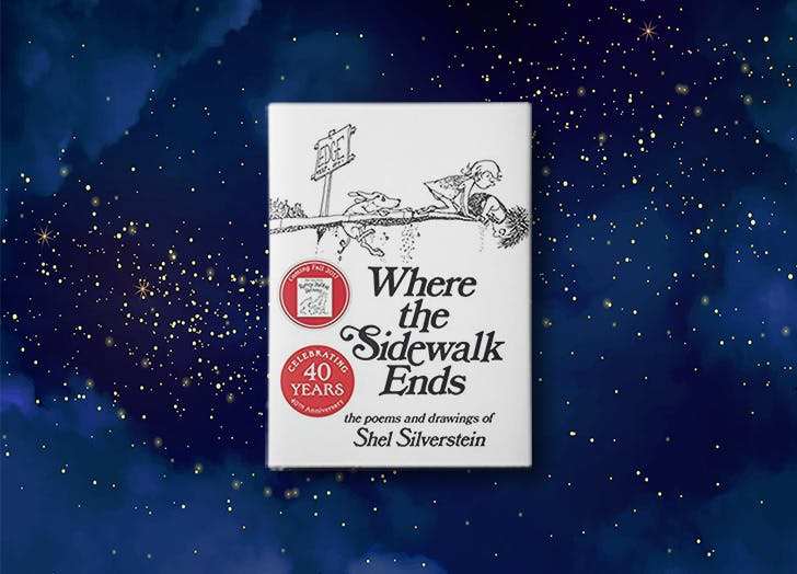 Where the Sidewalk Ends by Shel Silverstein bedtime story