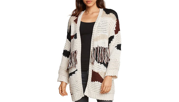 Willow and Clay fringe sweater